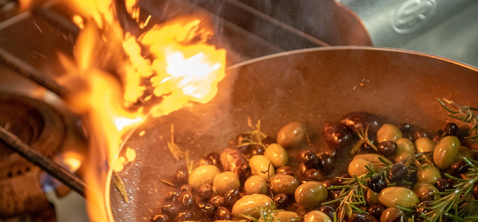 Cretan Cuisine Chania- Cretan traditional food restaurants chania- Restaurants in Platanias- Olive Tree